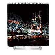 Holiday Inn Boardwalk And Casino Las Vegas Shower Curtain