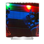 Holiday Lights 2012 Denver City And County Building M1 Shower Curtain