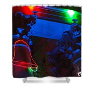 Holiday Lights 2012 Denver City And County Building M3 Shower Curtain