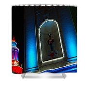 Holiday Lights 2012 Denver City And County Building N2 Shower Curtain