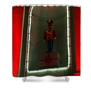 Holiday Lights 2012 Denver City And County Building P1 Shower Curtain