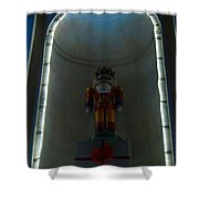 Holiday Lights 2012 Denver City And County Building P3 Shower Curtain