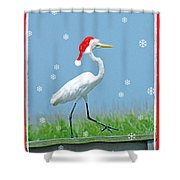 Holiday March Shower Curtain