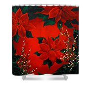Holiday Pedals Shower Curtain