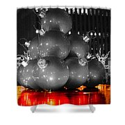 Holiday Reflection Shower Curtain