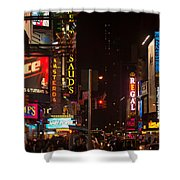 Holiday Rush Shower Curtain