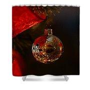 Holiday Season Shower Curtain