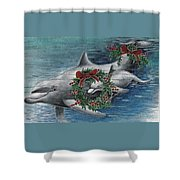 Holiday Smile Shower Curtain