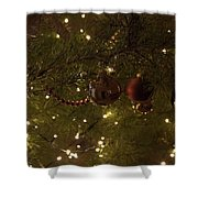 Holiday Sparkle Shower Curtain