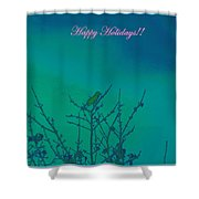 Holiday With Nature Shower Curtain