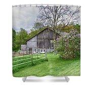 Holland Barn Shower Curtain
