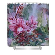 Holland Blooms Shower Curtain