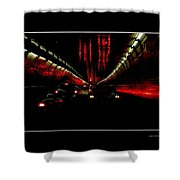 Holland Tunnel Lights Shower Curtain