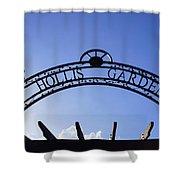 Hollis Gardens Entrance Shower Curtain
