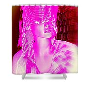 Holly In Hood Shower Curtain