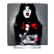 Holly Shivers Shower Curtain