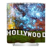 Hollywood 2 - Home Of The Stars By Sharon Cummings Shower Curtain