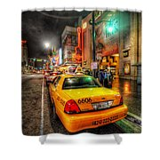 Hollywood Boulevard Shower Curtain