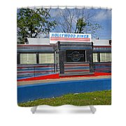 Hollywood Diner Shower Curtain
