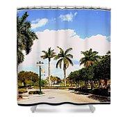 Hollywood Florida Shower Curtain