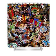 Hollywood Hrc Pins Shower Curtain