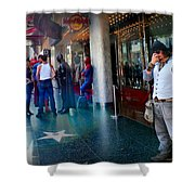 Hollywood Super Heros Shower Curtain