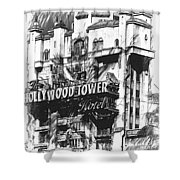 Hollywood Tower Shower Curtain
