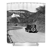Hollywoodland Shower Curtain
