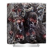 Holocaust A World In Mourning Shower Curtain