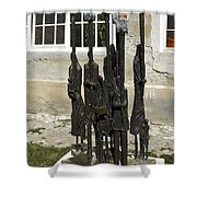 Holocaust Memorial Shower Curtain