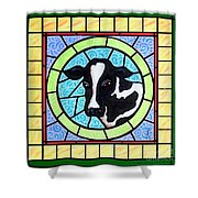 Holstein 4 Shower Curtain