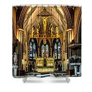 Holy Cross Shower Curtain