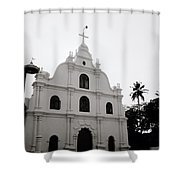 Ethereal Cochin Shower Curtain