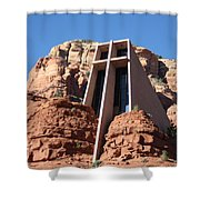 Holy Cross Church Shower Curtain