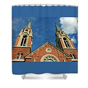 Holy Hill 1  Shower Curtain