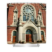 Holy Hill 2  Shower Curtain