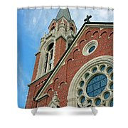 Holy Hill 3  Shower Curtain