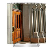 Holy Hill 4  Shower Curtain