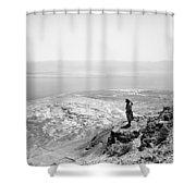 Holy Land Dead Sea, C1910 Shower Curtain