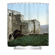Holy Land: Ruins Shower Curtain