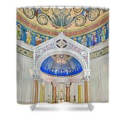 Holy Mary Shower Curtain