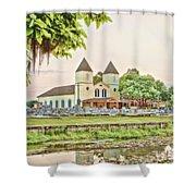 Holy Rosary Church Shower Curtain