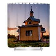 Holy Source 4. Karelia Shower Curtain