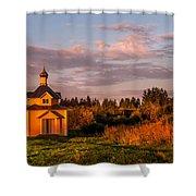 Holy Source. Karelia Shower Curtain