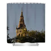 Holy Tower   Shower Curtain