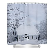 Holy Trinity Anglican Church And Shower Curtain