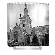 Holy Trinity Church Stratford Upon Avon Shower Curtain
