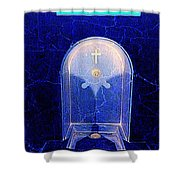 Holy Water Shower Curtain
