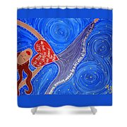 Holy Woman Icon Shower Curtain