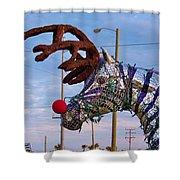 Holyday Horse Shower Curtain